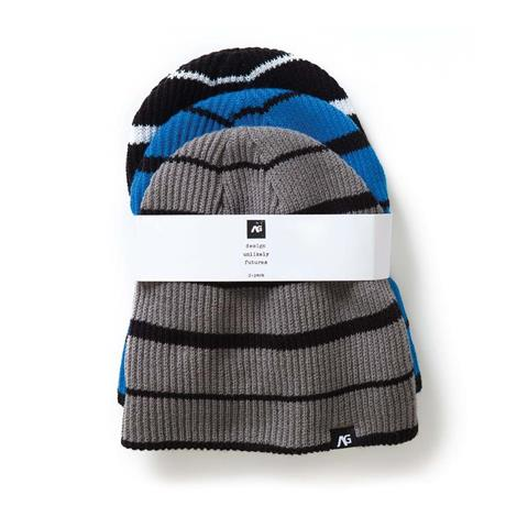 Analog Slouch 3 Pack Beanies Mens