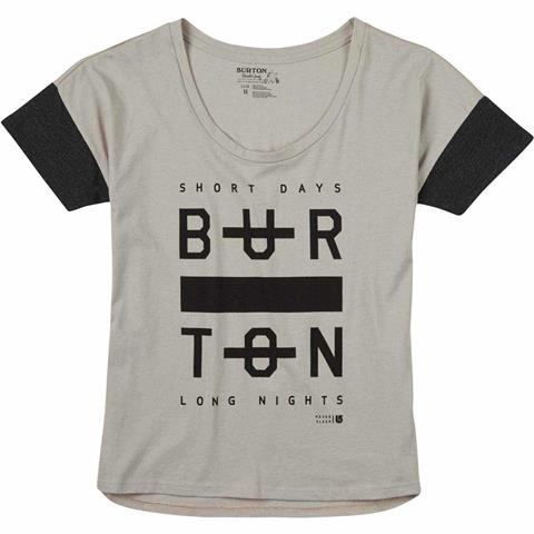 Burton Never Sleep Scoop Tee Womens