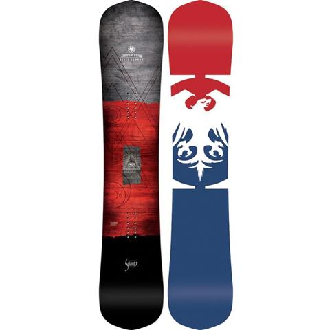 Nerver Summer Shaper Twin Snowboard Mens