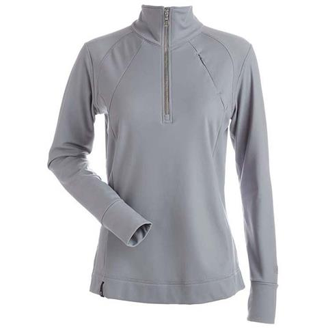 Nils Cheri 1/2 Zip T-Neck - Women's
