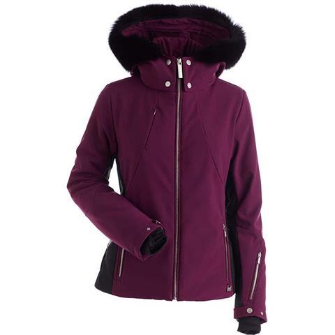Nils Pia Real Fur Jacket Womens