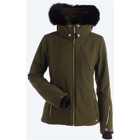 Nils Pricilla Real Fur Jacket Womens