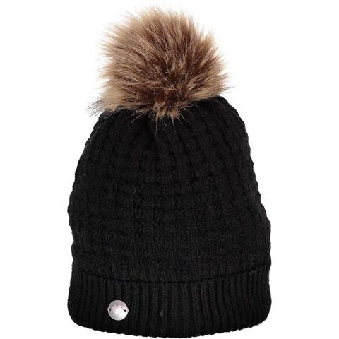 Obermeyer Beulah Hat with Faux Fur Pom - Women's