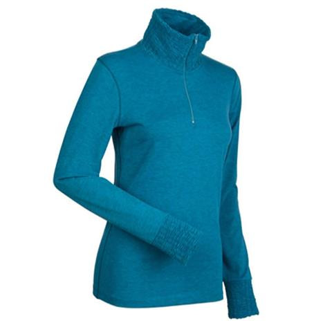 Nils Holly 1/4 Zip T Neck Womens
