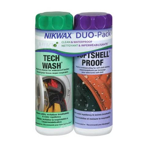 Nikwax Tech Wash/Softshell Duo Pack