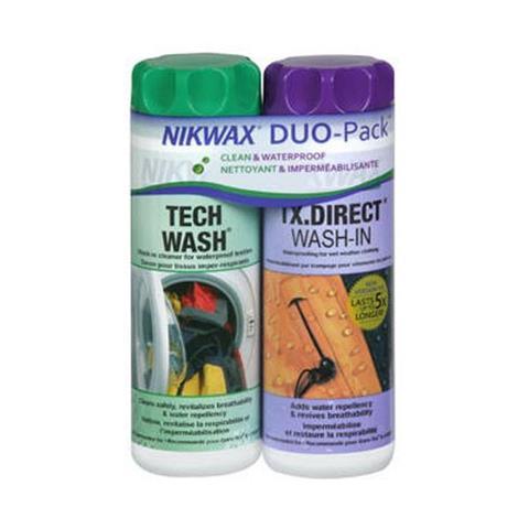 Nikwax Tech Wash/Tx Duo Pack