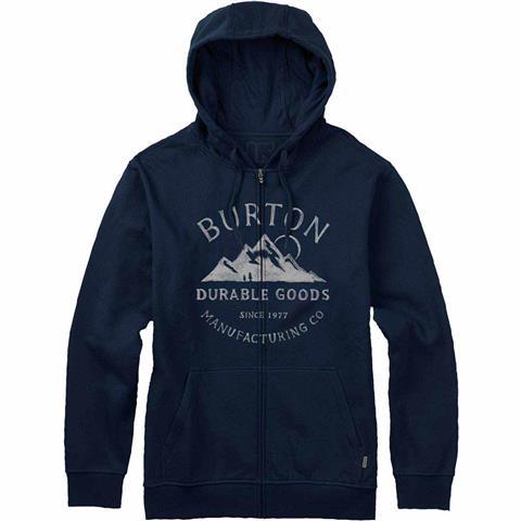 Burton Overlook Full Zip Hoodie Mens