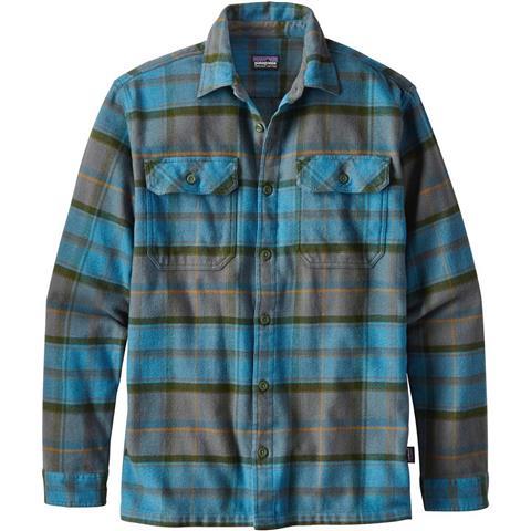 Patagonia Longsleeve Fjord Flannel Shirt Mens