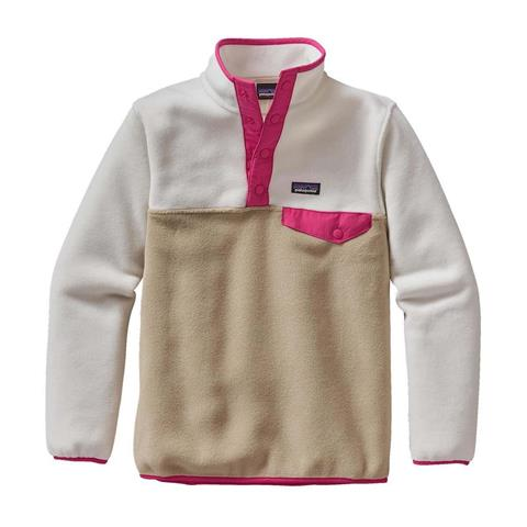 Patagonia Lightweight Synchilla Snap T Pullover Girls
