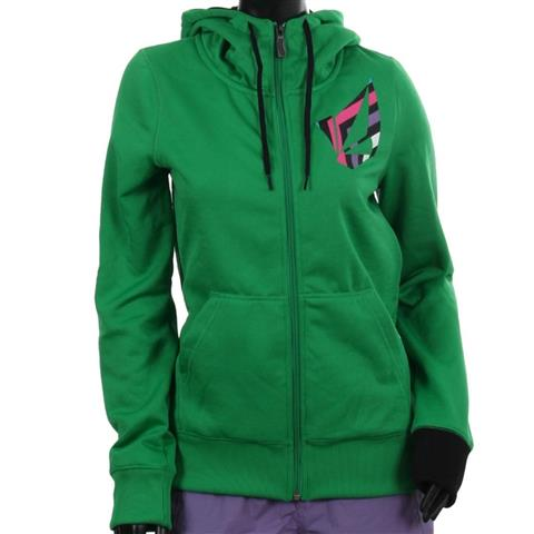 Volcom Jubaea Fleece Full Zip Womens