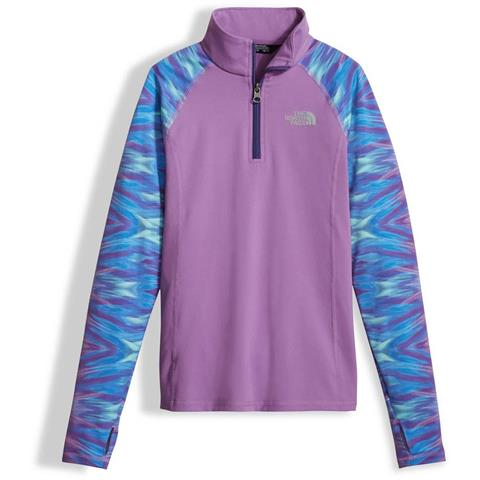 The North Face Pulse 1/4 Zip - Girl's
