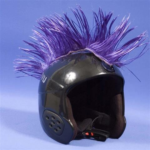 Mental Wig Out Mohawk Helmet Cover