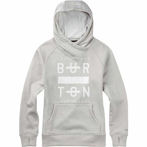 Burton Quartz Pullover Hoodie Womens