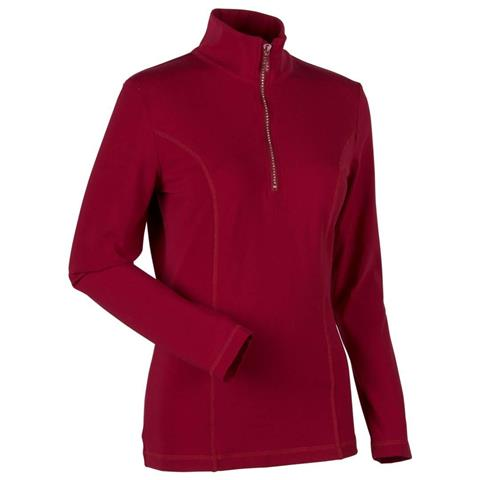 Nils Roxanne Zip Neck Womens