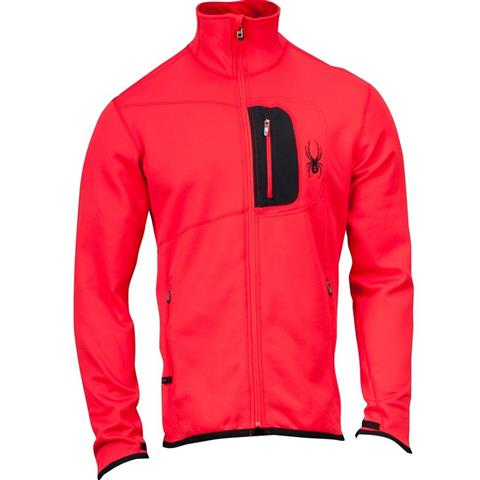 Spyder Bandit Full Zip Fleece Jacket Mens