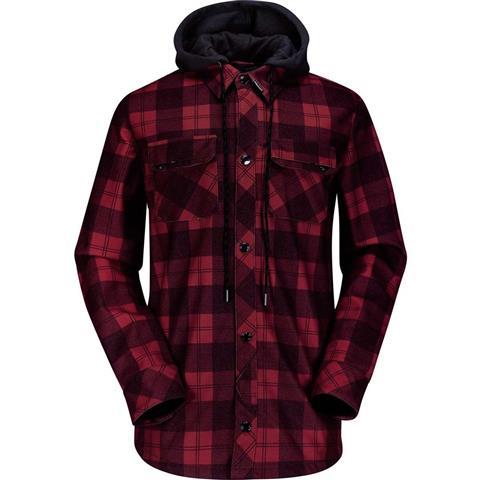 Volcom Hood Flannel Mens