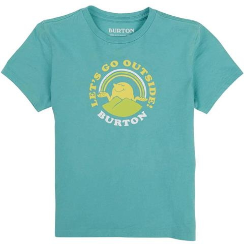 Burton Retro Mountain Organic Short Sleeve T Shirt - Toddler
