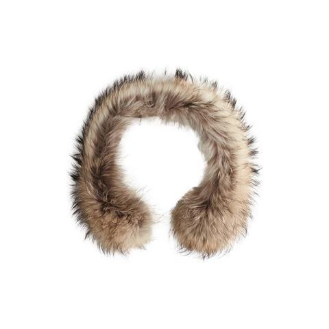 Nils Silver Fox and Natural Finn Fur Womens