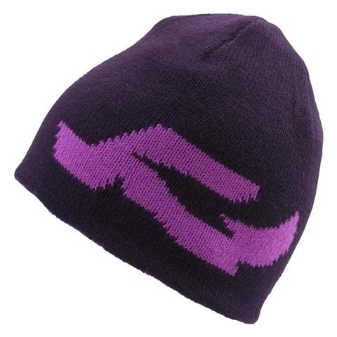 Ride Pattern Reversible Beanie Womens