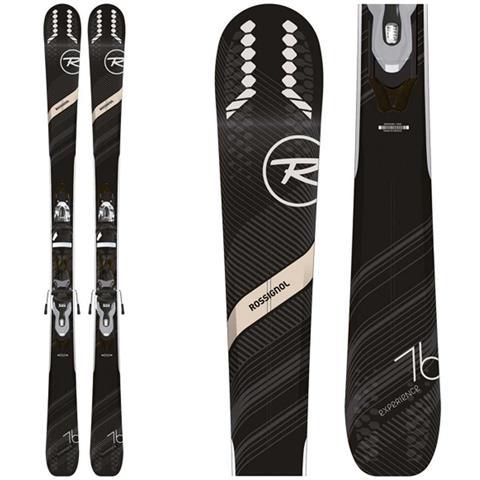 Rossignol Experience 76 CI Skis + Xpress 10 Bindings Womens