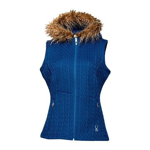 Spyder Major Cable Core Sweater Vest Womens