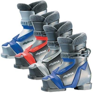 Alpina Be3K Ski Boots Youth