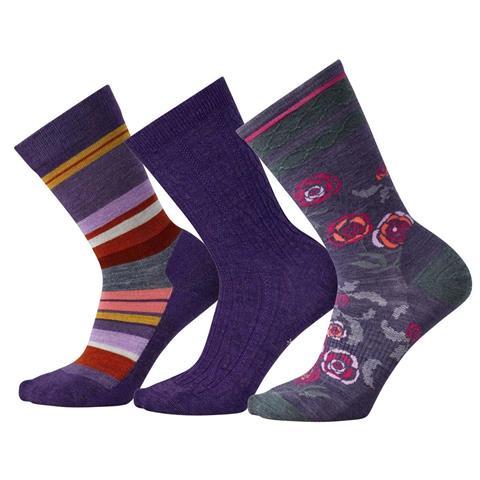 Smartwool Trio 3 Socks Womens