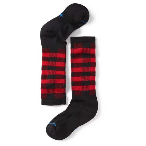Smartwool Wintersport Buff Check Sock Kids