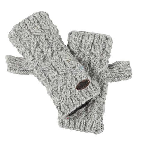 Turtle Fur Nepal Collection Mika Fingerless Mittens Womens