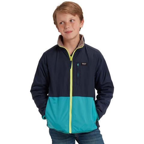 Burton Snooktwo Reversible Fleece Jacket Boys