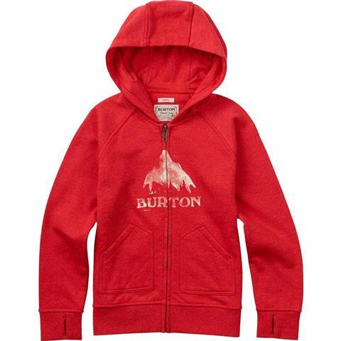 Burton Stamped MTN Full Zip Hoodie Girls