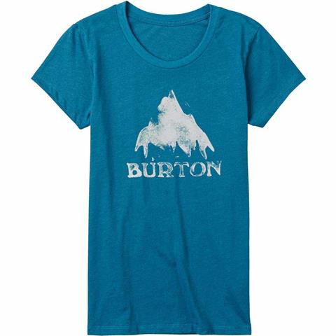 Burton Stamped Mountain Short Sleeve T Shirt Womens