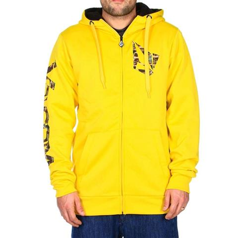 Volcom Logo Sherpa Lined Fleece Mens