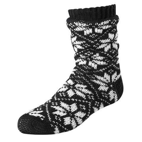 Terramar Slipper Socks with Gripper Dots Womens