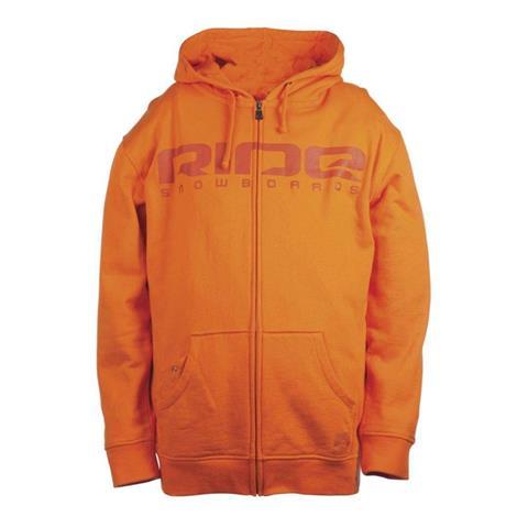 Ride Logo Full Zip Hoodie Mens