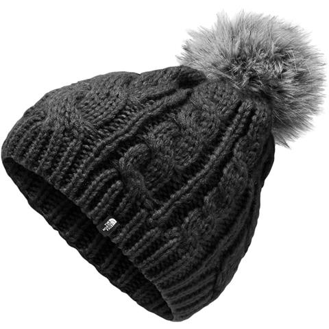 9c260795ce8 The North Face Oh Mega Fur Pom Beanie Youth. Loading zoom. TNF Black ...