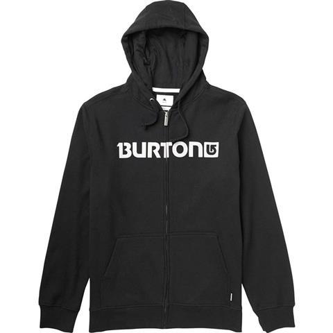 Burton Logo Horizontal FZ Hoodie Mens