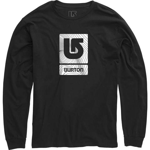 Burton Logo Vertical Fill LS Shirt Mens