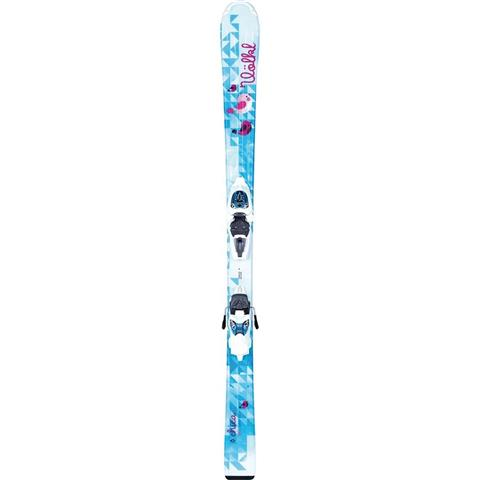 Volkl Chica Skis with Jr. 3Motion 4.5 Bindings Girls