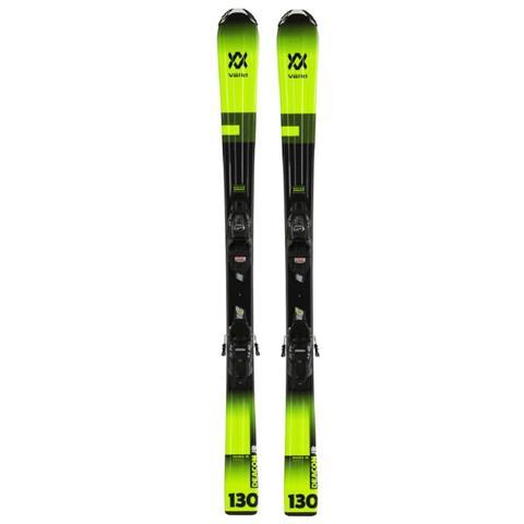 Volkl Deacon Jr Skis + vMotion 7.0 Bindings Boys
