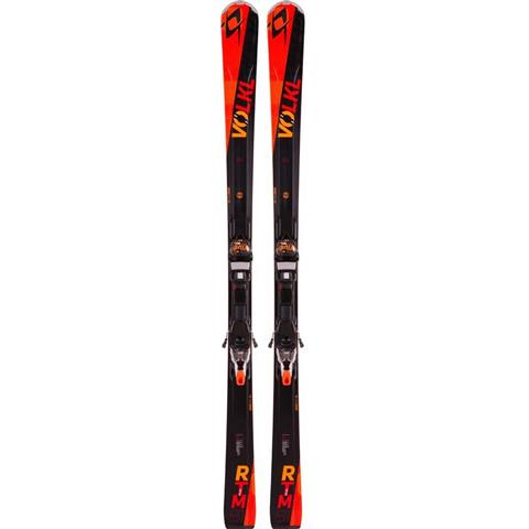 Volkl RTM 81 Skis with Marker iPT WR XL 12.0 TCX D Bindings Mens