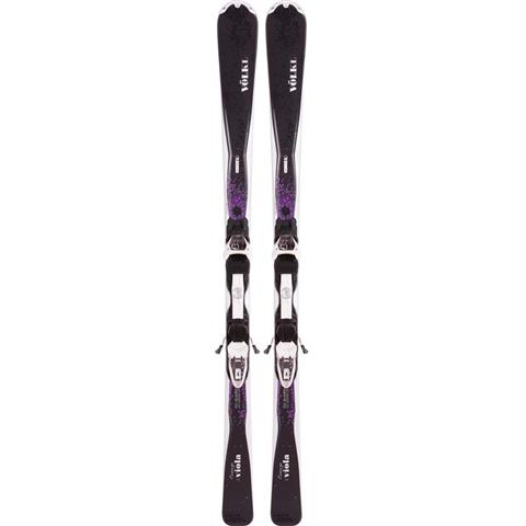 Volkl Viola Skis with Marker 4Motion 10.0 Essenza Bindings Womens