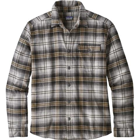 Patagonia Long Sleeve Lightweight Fjord Flannel Shirt Mens