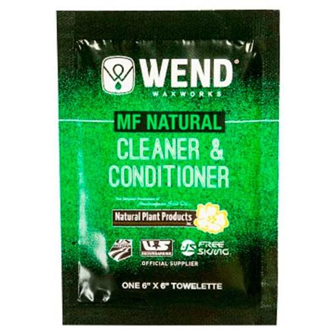 Wend MF Natural Cleaner & Conditioner Towelette