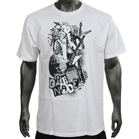 Grenade Rockout T Shirt Short Sleeve Mens