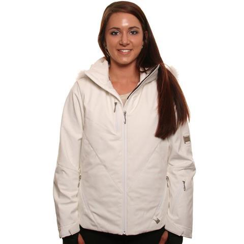Nils Rosie Real Fur Jacket Womens