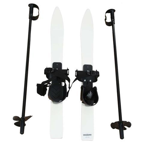 Kids Plastic Skis and Bindings