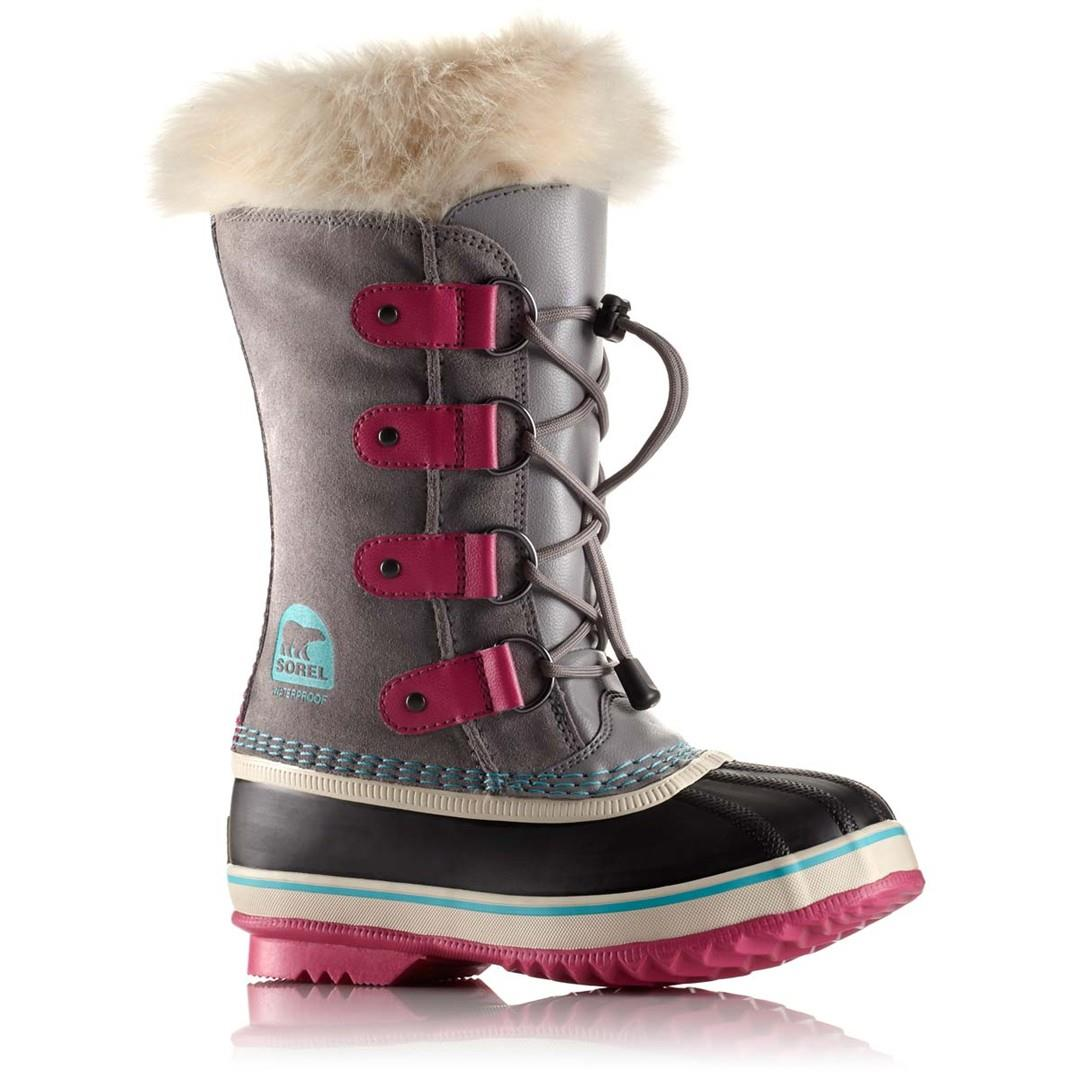 Sorel Youth Joan of Arctic Knit Boot(Children's) -Haute Pink Sale 2018 Nicekicks Shopping Online With Mastercard Perfect Cheap Online Buy Cheap Real uiAJpA
