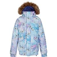 Olaf Frozen Print Burton Twist Bomber Jacket Girls