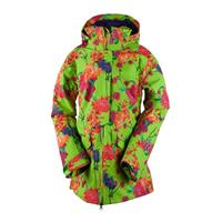 Flower Burst Obermeyer Aura Jacket Womens